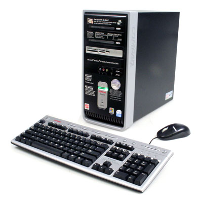 Compaq eu All-in-One PC Specifications
